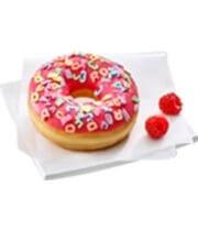 Donut malinowy Alfabet