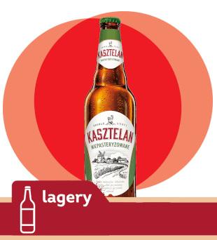 Piwo Kasztelan Niepasteryzowane
