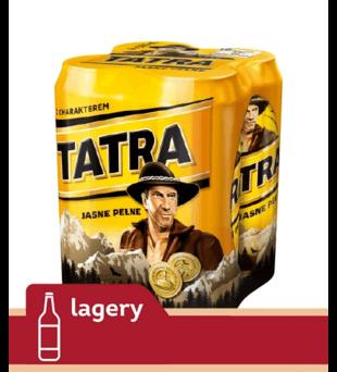 Piwo Tatra Jasne Pełne