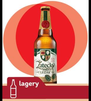 Piwo Žatecký Světlý Ležák