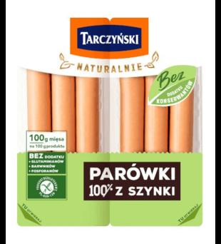 Parówki 100% z szynki Tarczyński