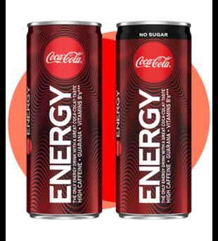 Napój Coca-Cola Energy