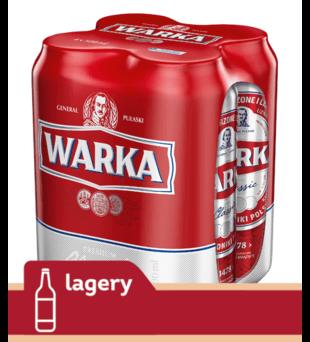 Piwo Warka Jasne Pełne