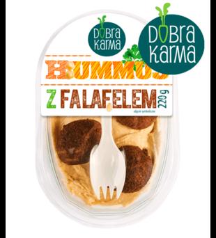 Hummus z falafelem Dobra Karma