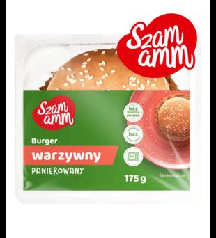 Burger warzywny, cheeseburger wołowy Szamamm