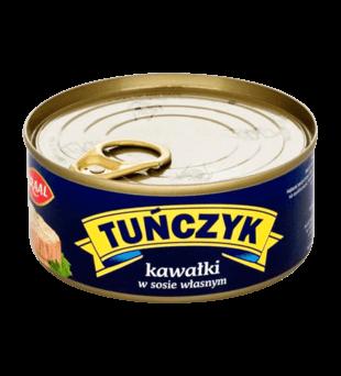 Tuńczyk w kawałkach Graal