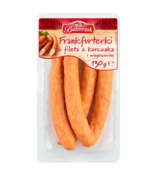 Frankfurterki drobiowe Balcerzak