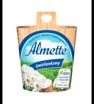 Puszysty serek twarogowy Almette