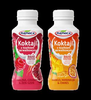Koktajl z białkiem serwatkowym