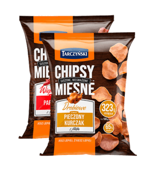 Chipsy mięsne Tarczyński