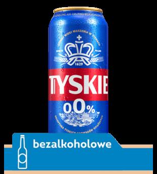 Piwo Tyskie 0,0%