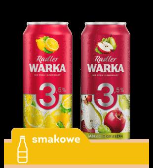 Piwo Warka Radler 3,5%