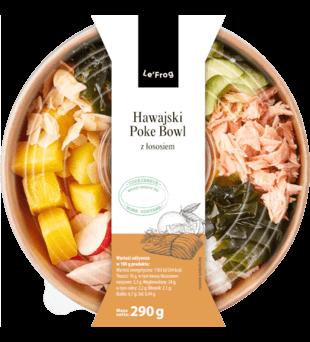 Hawajski Poke Bowl z łososiem Le'Frog