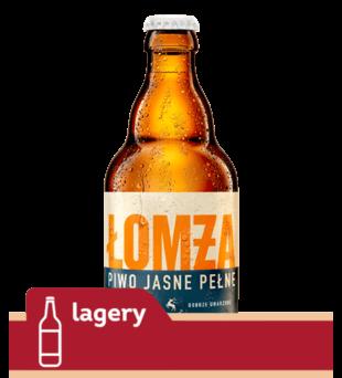 Piwo Łomża Jasne Pełne