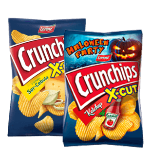 Chipsy Crunchips X-cut