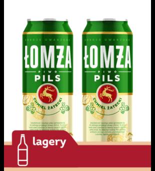 Piwo Łomża Pils