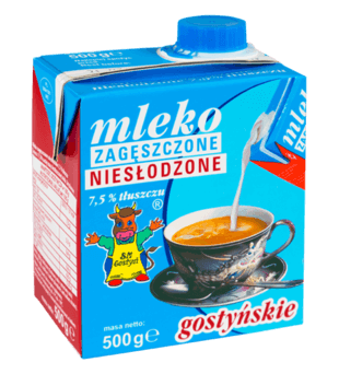 Mleko zagęszczone niesłodzone gostyńskie