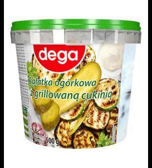 Sałatka ogórkowa z grillowaną cukinią Dega