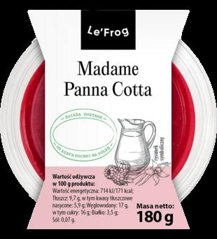 Madame Panna Cotta