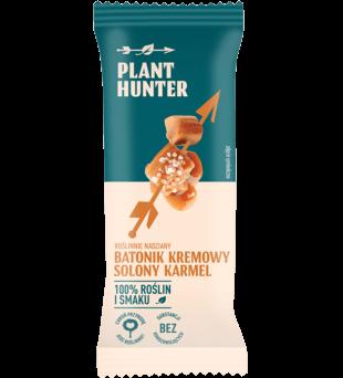 Roślinnie nadziany batonik kremowy - solony karmel