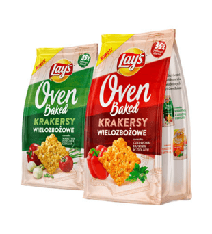 Krakersy Lay's Oven Baked