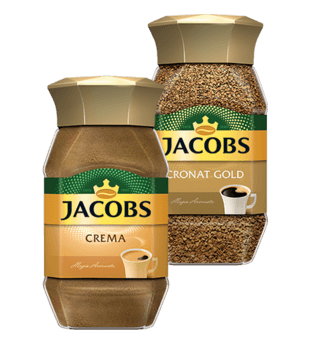 Kawa Jacobs Cronat Gold i Crema