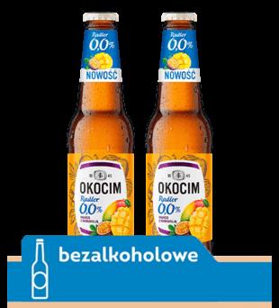 Piwo Okocim Radler 0,0%