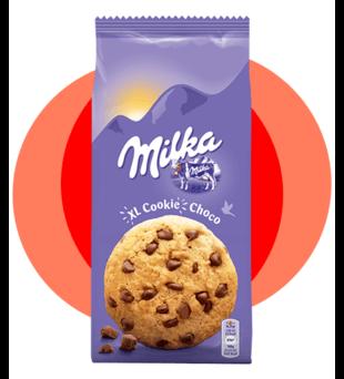 Ciastka Milka