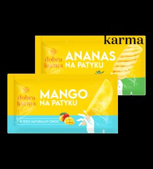 Mango, ananas na patyku Dobra Karma