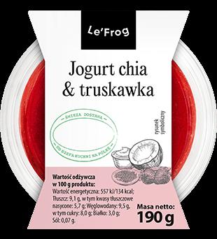 Jogurt chia & truskawka