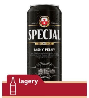 Piwo Specjal Jasne Pełne