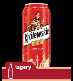 Piwo Królewskie Jasne Pełne