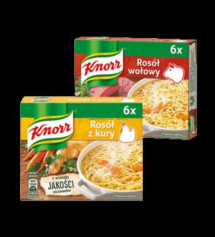 Rosół w kostkach Knorr