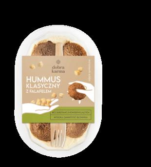 Hummus z falafelem