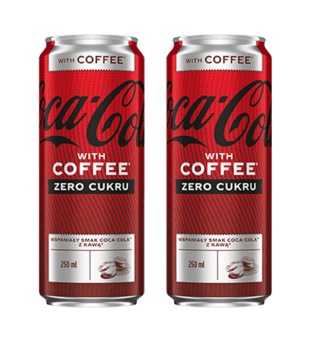 Napój Coca-Cola Coffee Zero