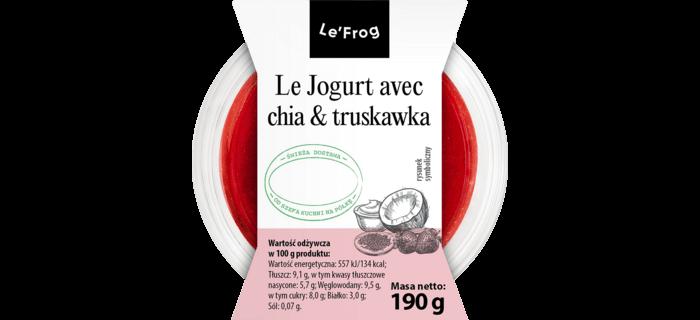 Le Jogurt avec chia & truskawka