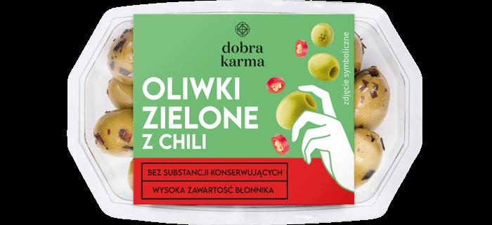 Oliwki zielone z chilli