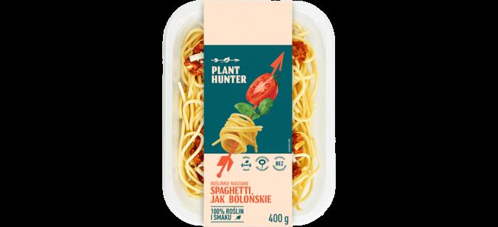 Roślinnie nadziane spaghetti jak bolońskie