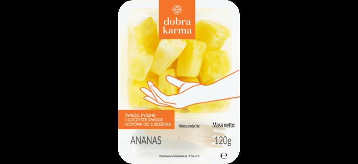 Owoce krojone ananas