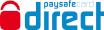 Logo paysafecard Direct - doładuj paysafecard za pomocą kodu kreskowego w punkcie sprzedaży